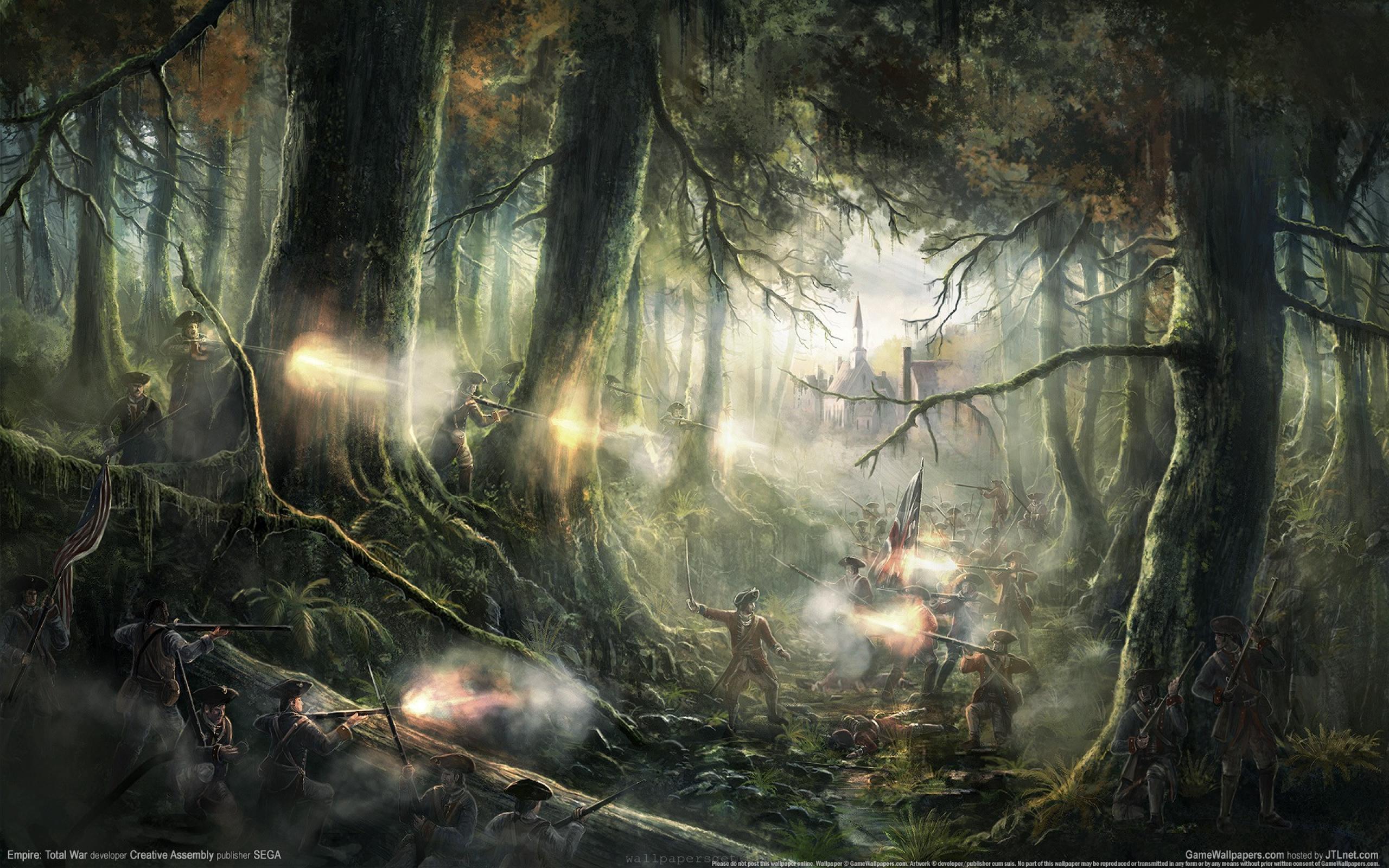 Fantasy war landscape - photo#5