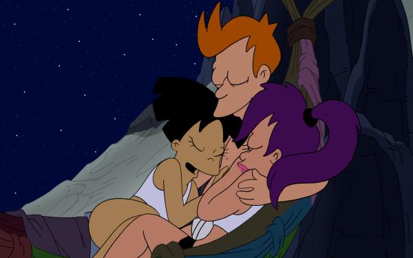 TV Show Futurama Fry Leela Amy Wong Turanga Leela Philip J. Fry HD Wallpaper   Background Image
