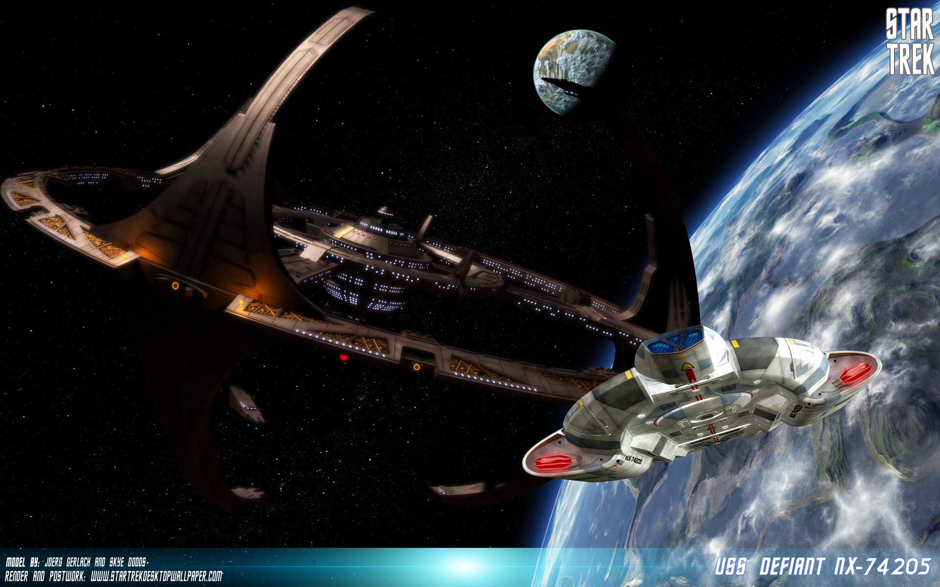 8 Star Trek: Deep Space Nine Wallpapers | Star Trek: Deep Space