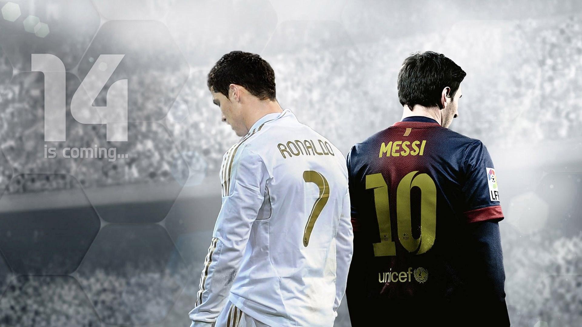 Lionel Messi And Cristiano Ronaldo Wallpaper Hd