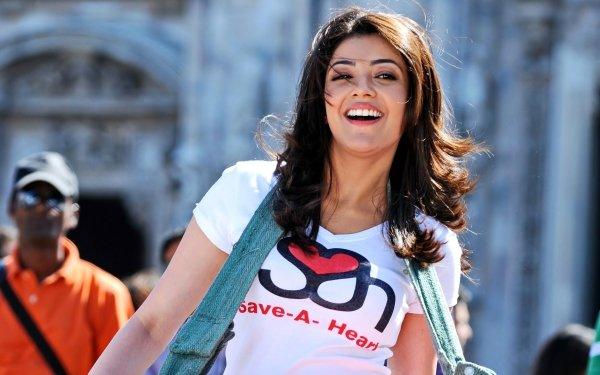 Kändis Kajal Aggarwal Skådespelerskor Indien Flicka Actress Film HD Wallpaper | Background Image