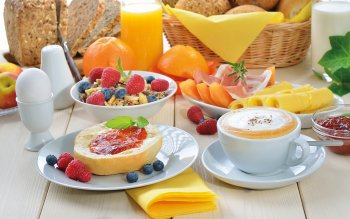Food - Breakfast Wallpapers and Backgrounds ID : 465239