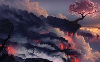 Earth - Volcano Wallpapers and Backgrounds ID : 465623