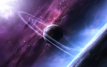Sci Fi - Planetary Ring Wallpapers and Backgrounds ID : 465836
