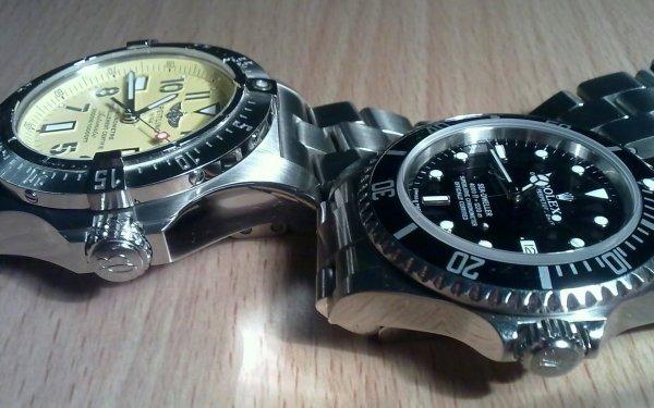 Man Made Watch Rolex Breitling HD Wallpaper   Background Image