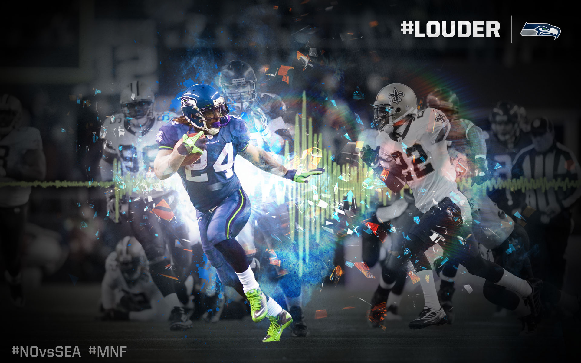 Seattle Seahawks Full HD Wallpaper and Background 1920x1200 ID