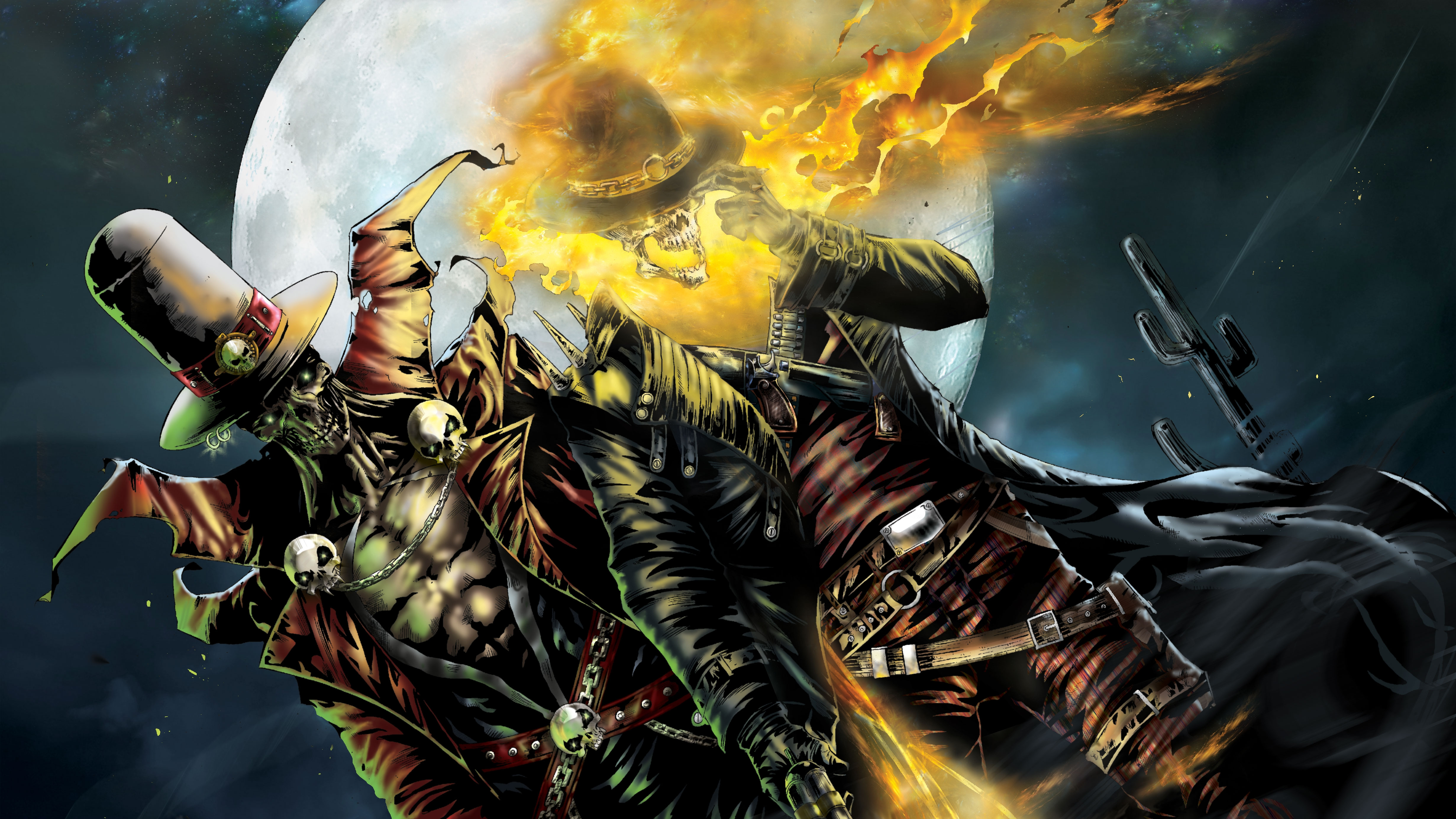 28 4k Ultra Hd Ghost Rider Wallpapers Background Images