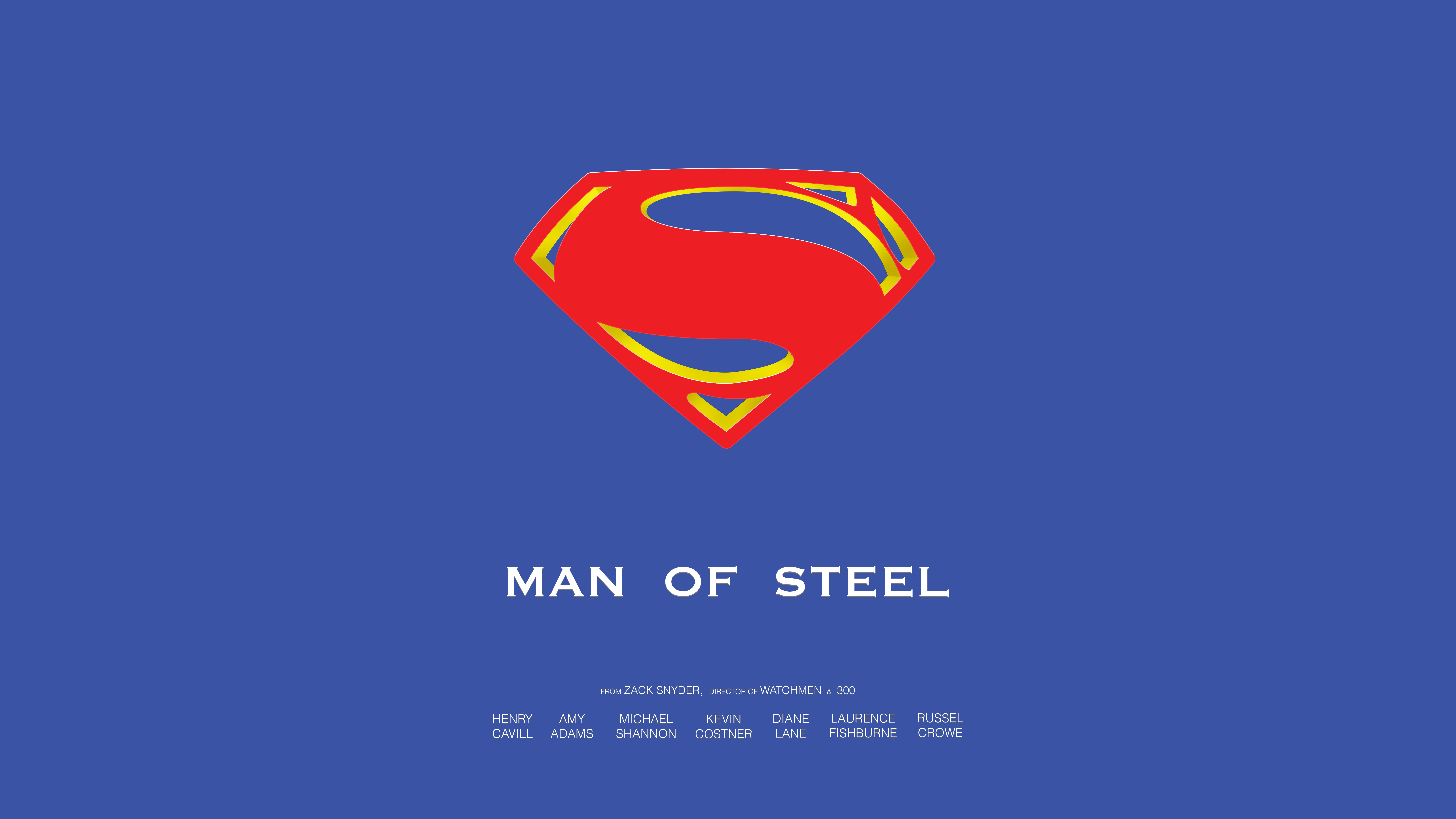 man of steel 8k ultra hd wallpaper and background image