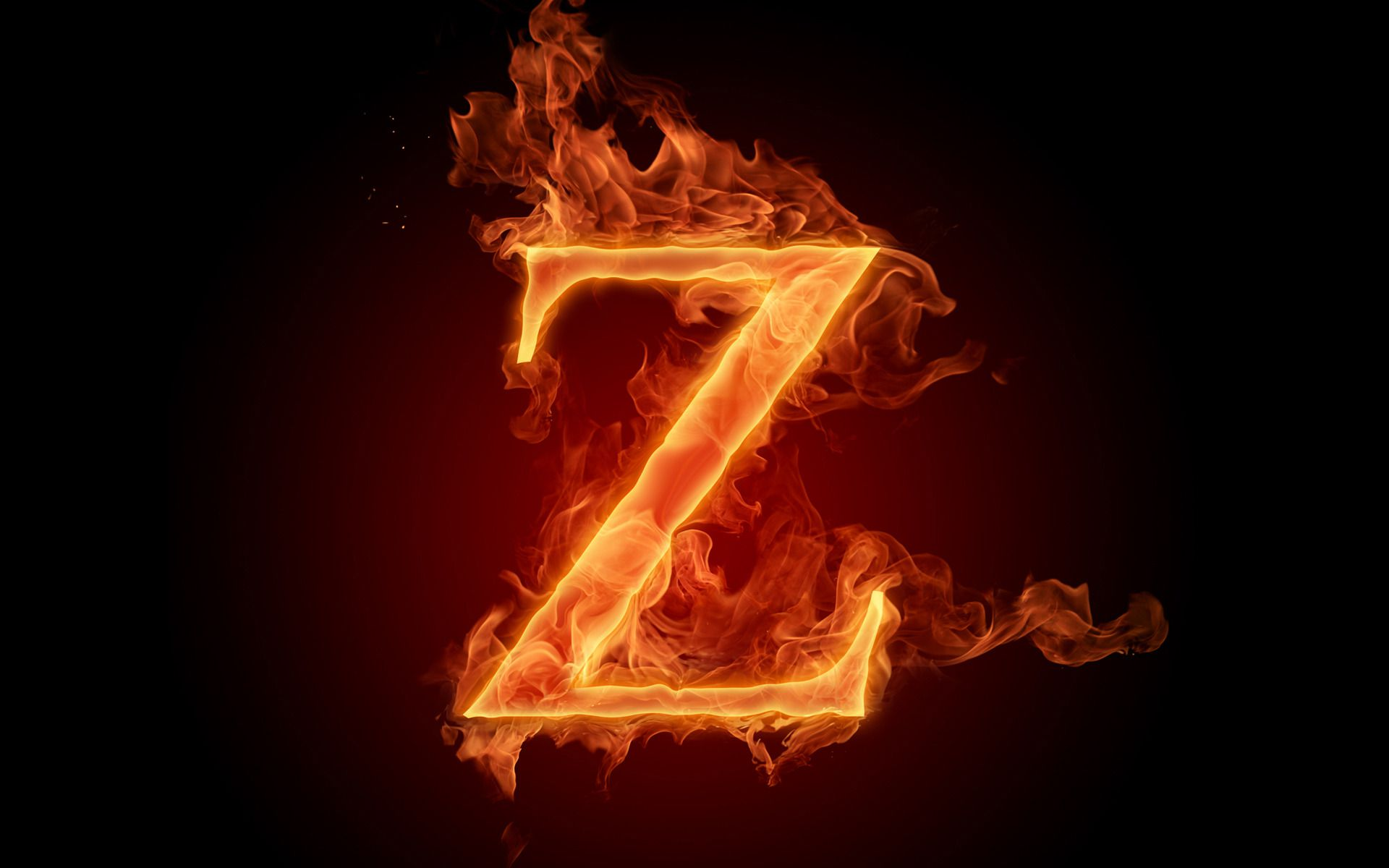 flaming z Full HD Wallpaper and Background Image ...