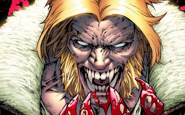Comics X-Men Sabertooth HD Wallpaper | Background Image