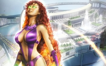 Comics - Starfire Wallpapers and Backgrounds ID : 468074