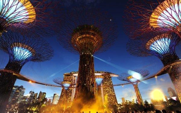 Man Made Marina Bay Sands Buildings Singapore HD Wallpaper   Background Image