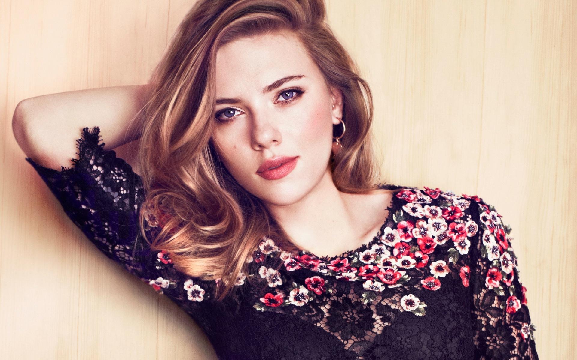 Scarlett Johansson Fondo De Pantalla Hd Fondo De
