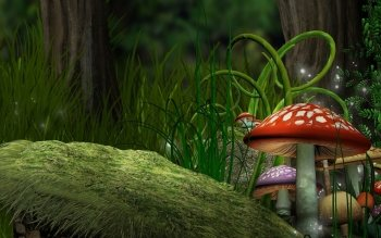 Fantasy - Forest Wallpapers and Backgrounds ID : 469631