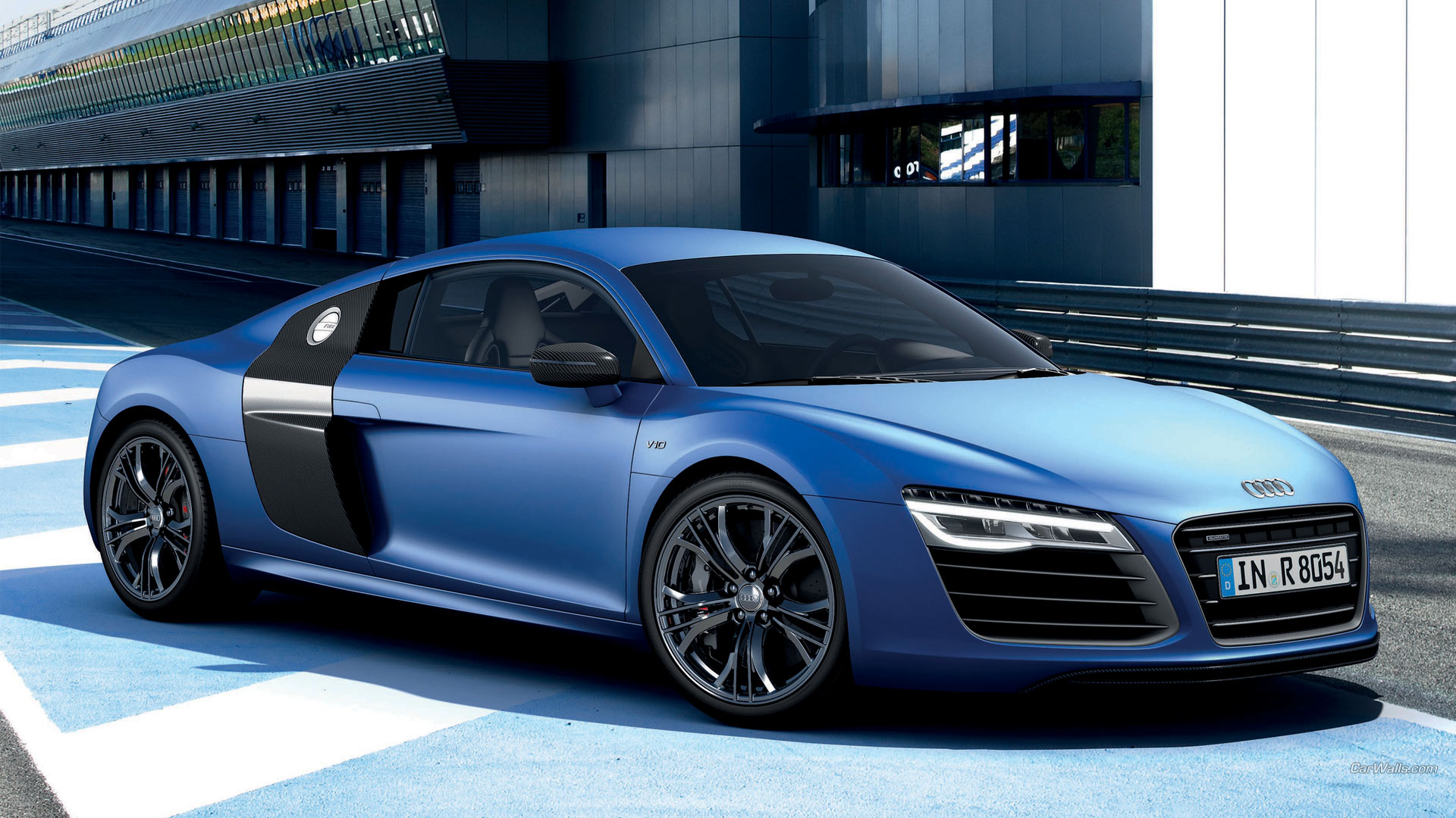 2013 Audi R8 V10 Plus Full HD Wallpaper And Background Image