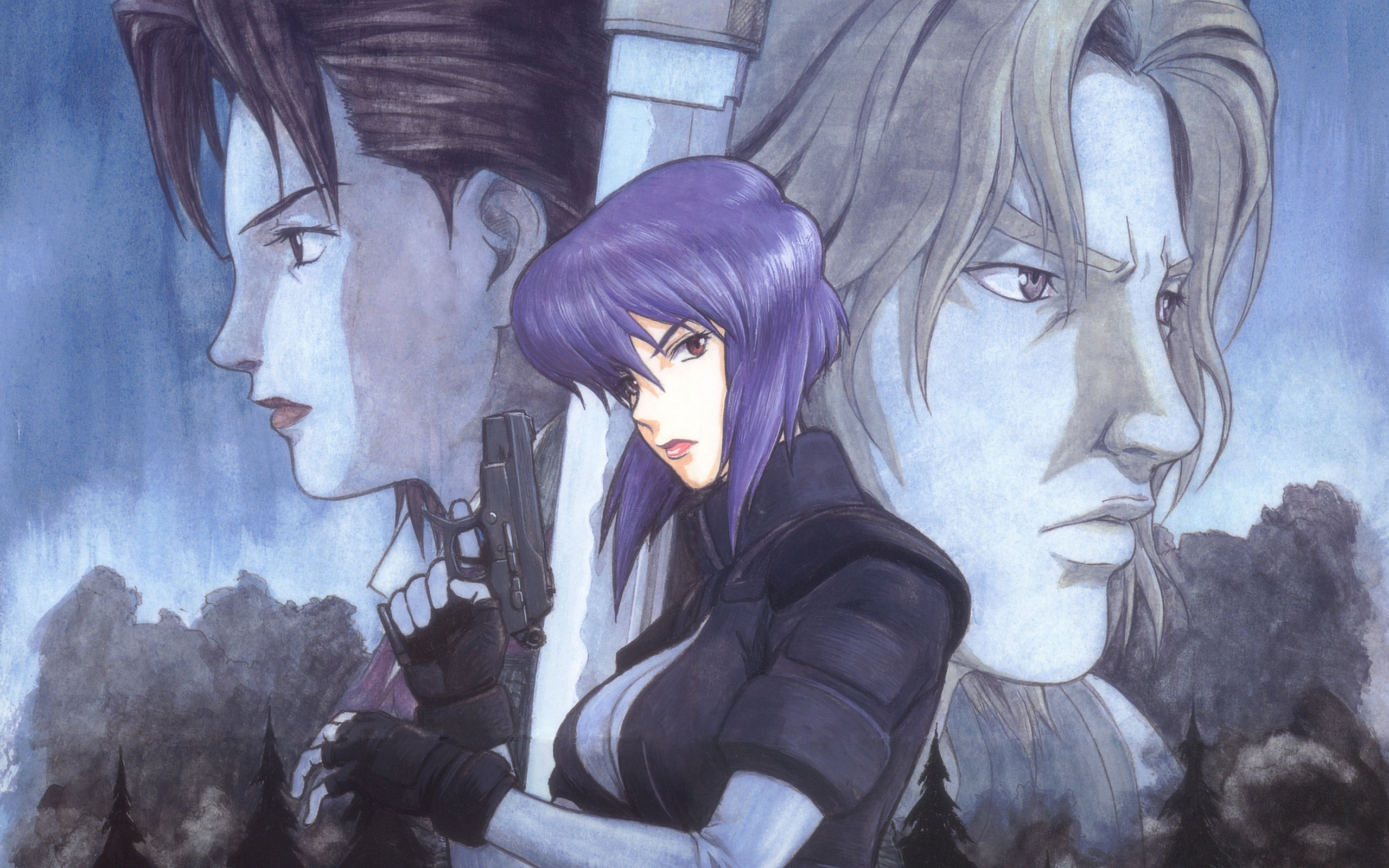 Ghost In The Shell Hd Wallpaper Background Image 2560x1600 Id 47121 Wallpaper Abyss