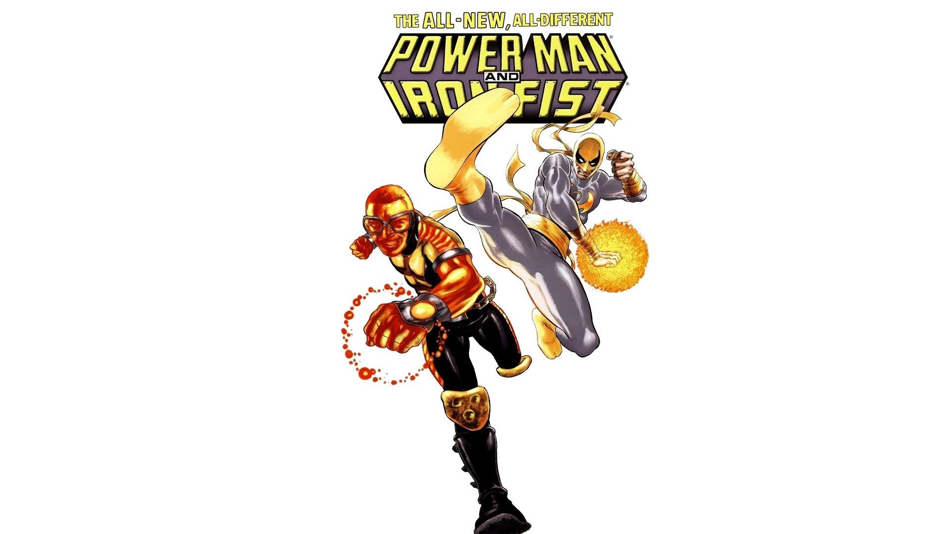 Iron man hd wallpapers backgrounds wallpaper abyss - Hd Wallpaper Background Id 471448 1920x1080 Comics Power Man Iron Fist