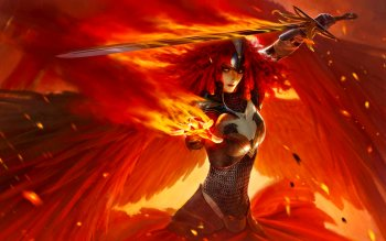 Fantasy - Angel Warrior Wallpapers and Backgrounds ID : 471111