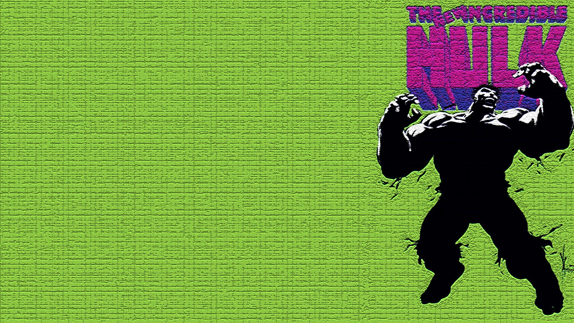 The Incredible Hulk Hd Wallpaper Background Image 1920x1080