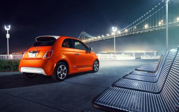 Vehicles - 2014 Fiat 500e Wallpapers and Backgrounds ID : 472203