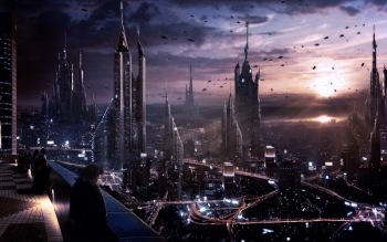 Sci Fi - City Wallpapers and Backgrounds