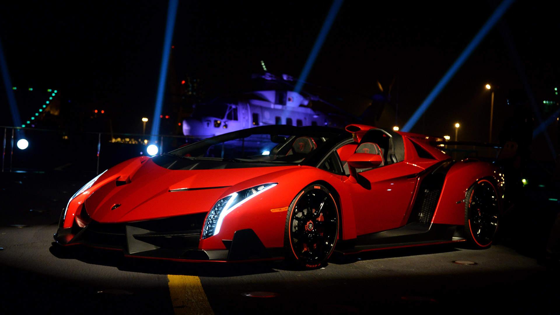 3 Lamborghini Veneno Roadster Hd Wallpapers Backgrounds