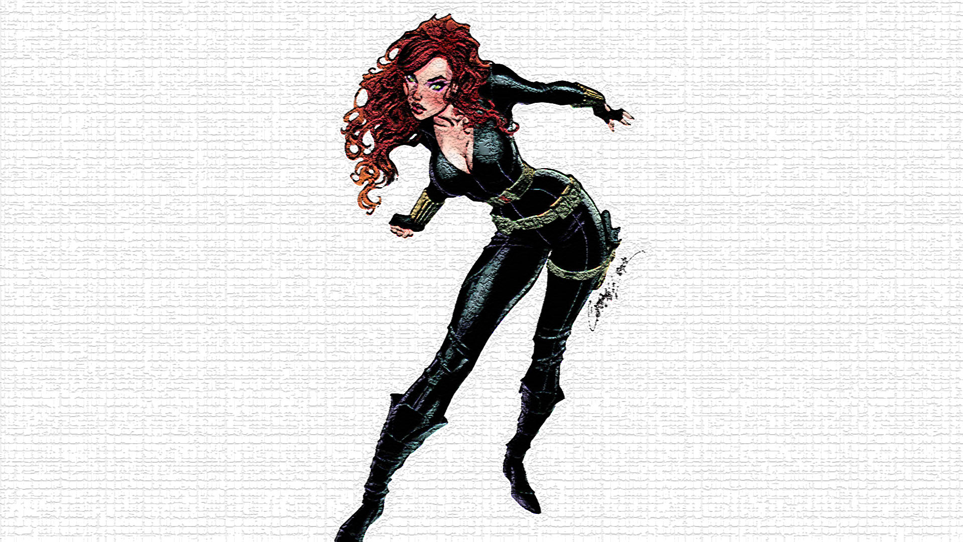 Black Widow Wallpaper Comic