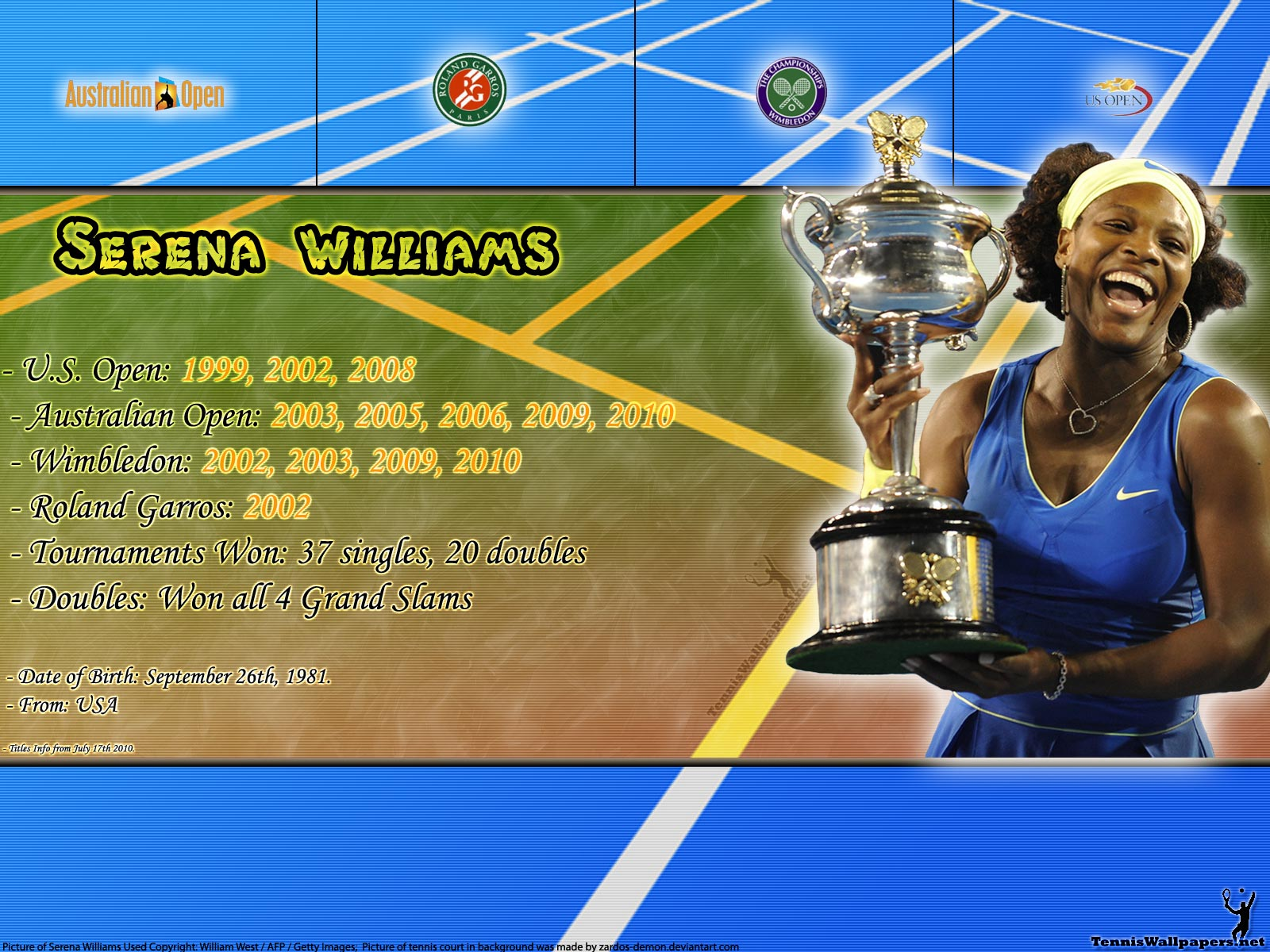 Serena Williams Wallpaper And Background Image