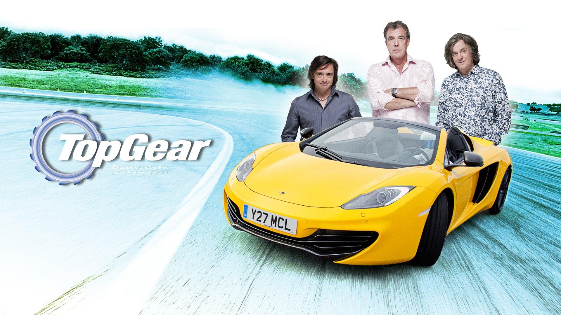 TV Show - Top Gear  Richard Hammond James May Jerremy Clarkson Spider McLaren Wallpaper
