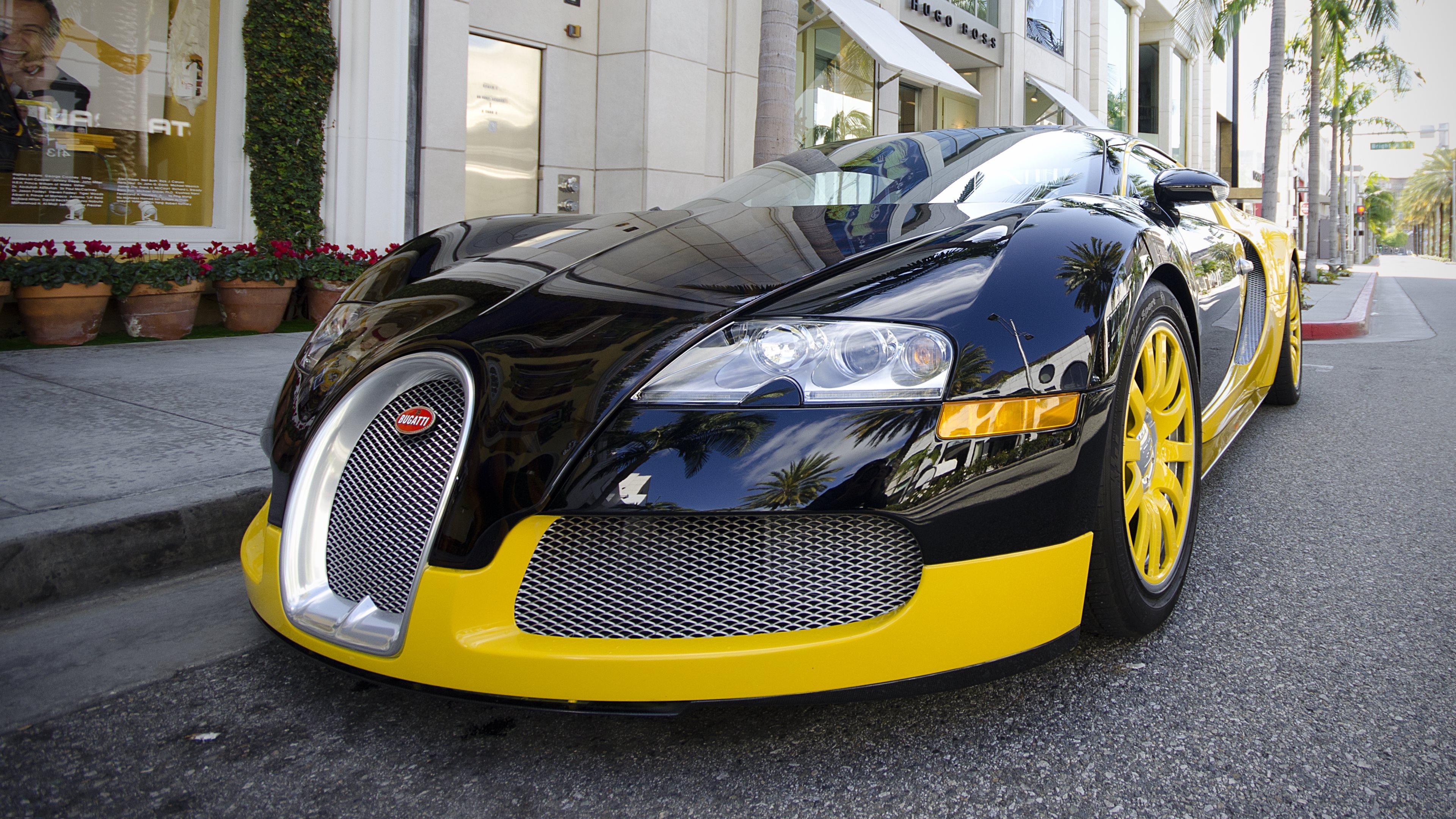 Bugatti Veyron Super Sport 4k Wallpaper: Bugatti_Veyron 4k Ultra HD Wallpaper