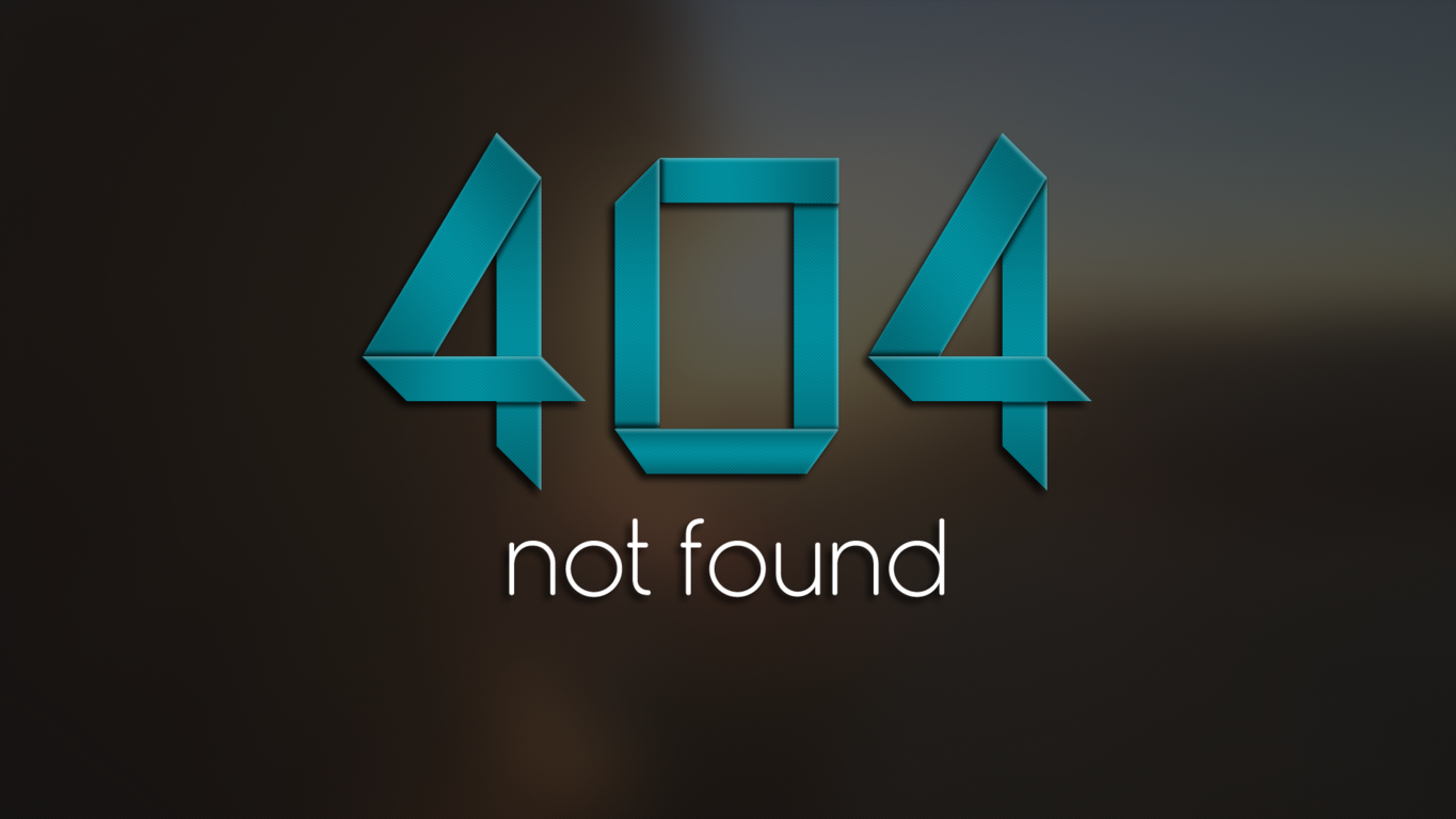 error 404 Computer Wallpaper, Desktop Background | 1365x768 | ID ...