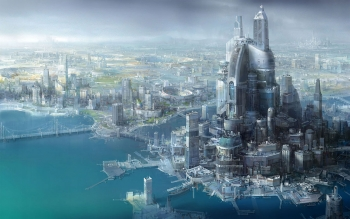 Science-Fiction - Großstadt Wallpapers and Backgrounds ID : 47723
