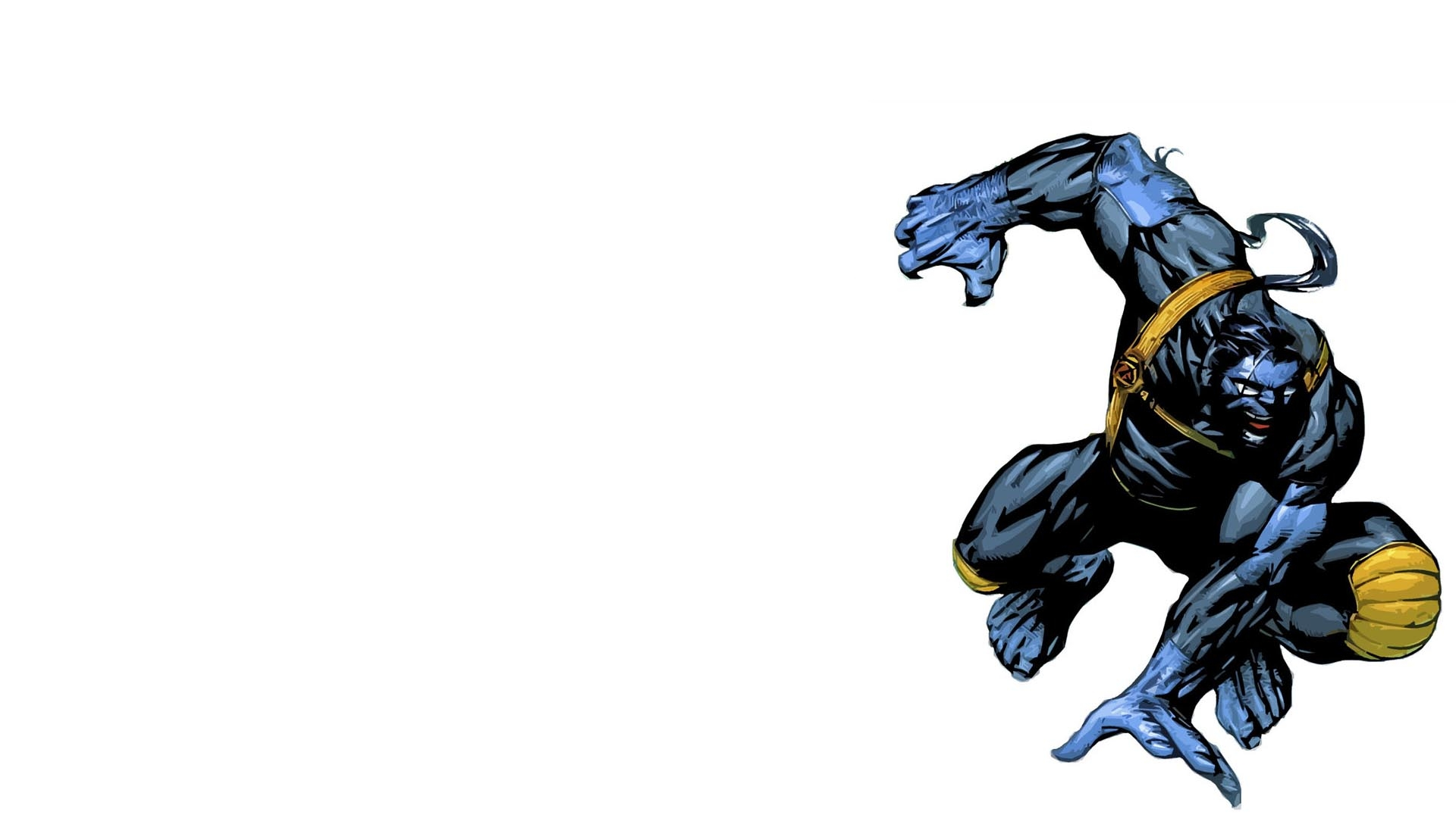 Comics  XMen Beast Wallpaper