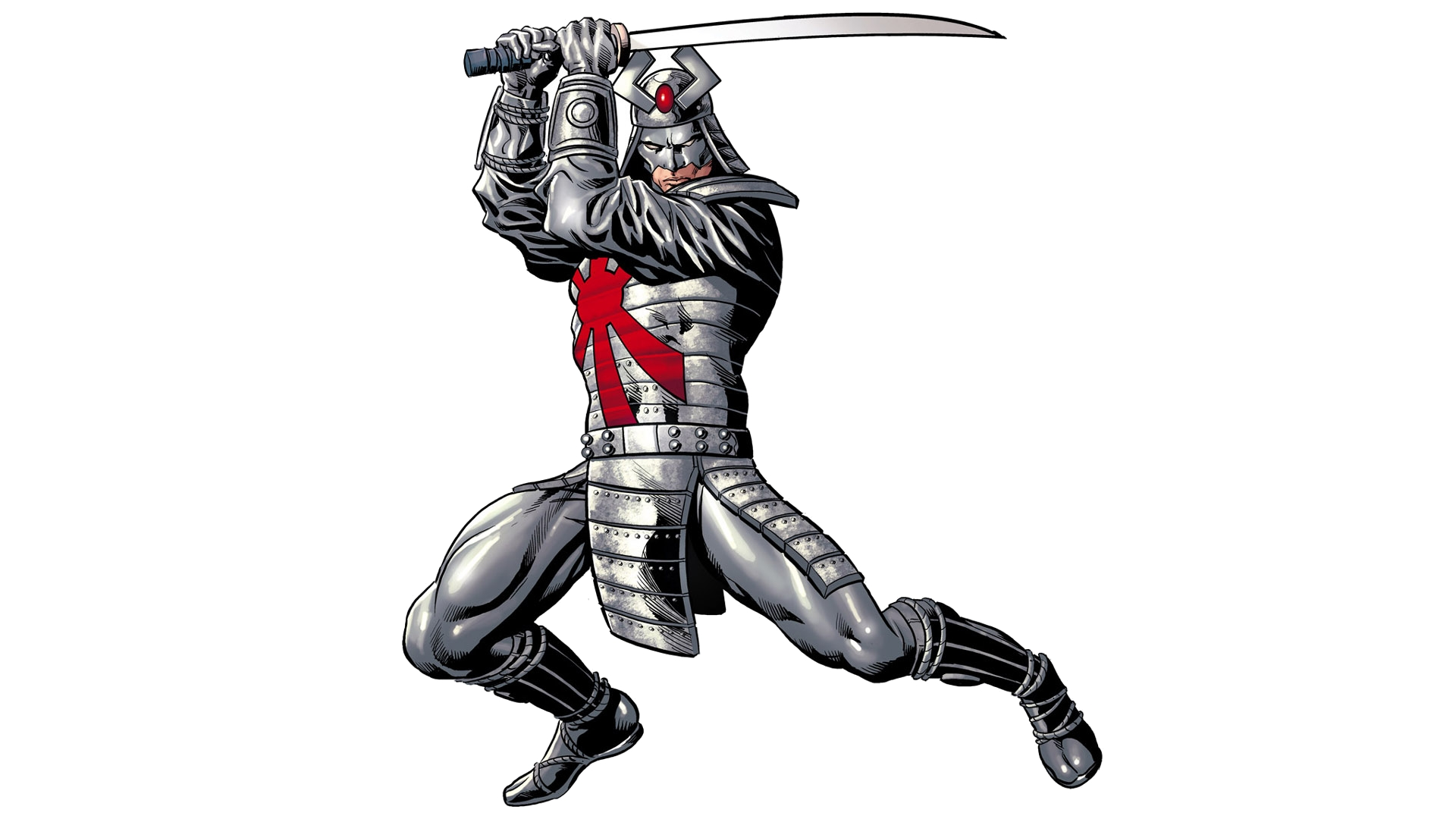silver samurai full hd wallpaper and background image