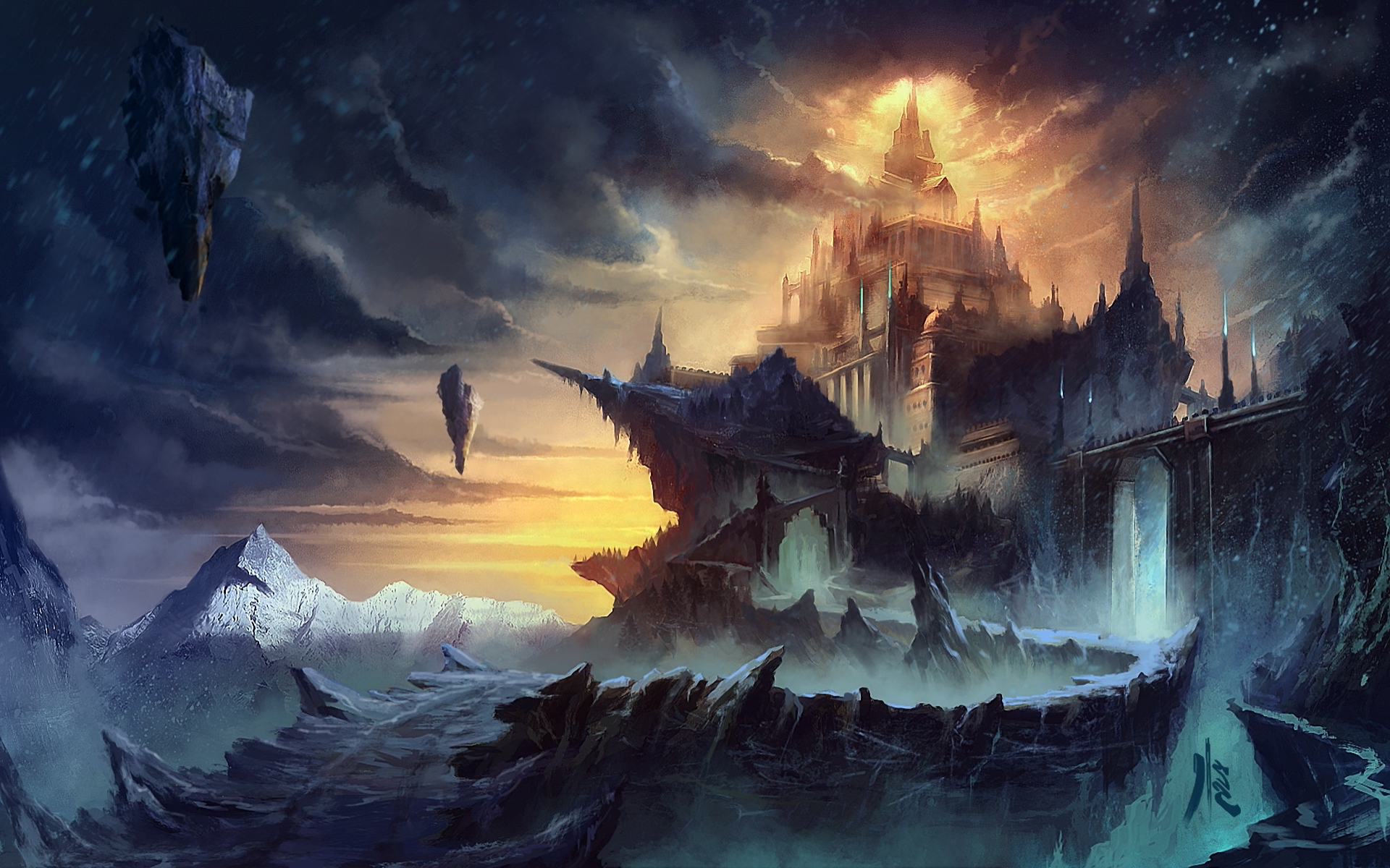 castle wallpaper and background image 1366x768 id479289