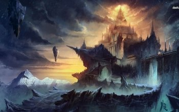 Fantasy - Castle Wallpapers and Backgrounds