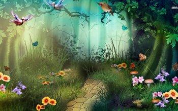 Fantasy - Forest Wallpapers and Backgrounds ID : 479946