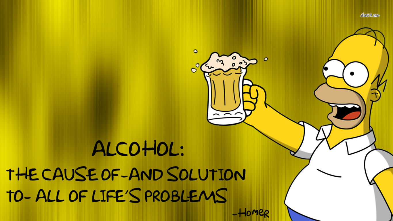 TV Show   The Simpsons Homer Simpson Wallpaper