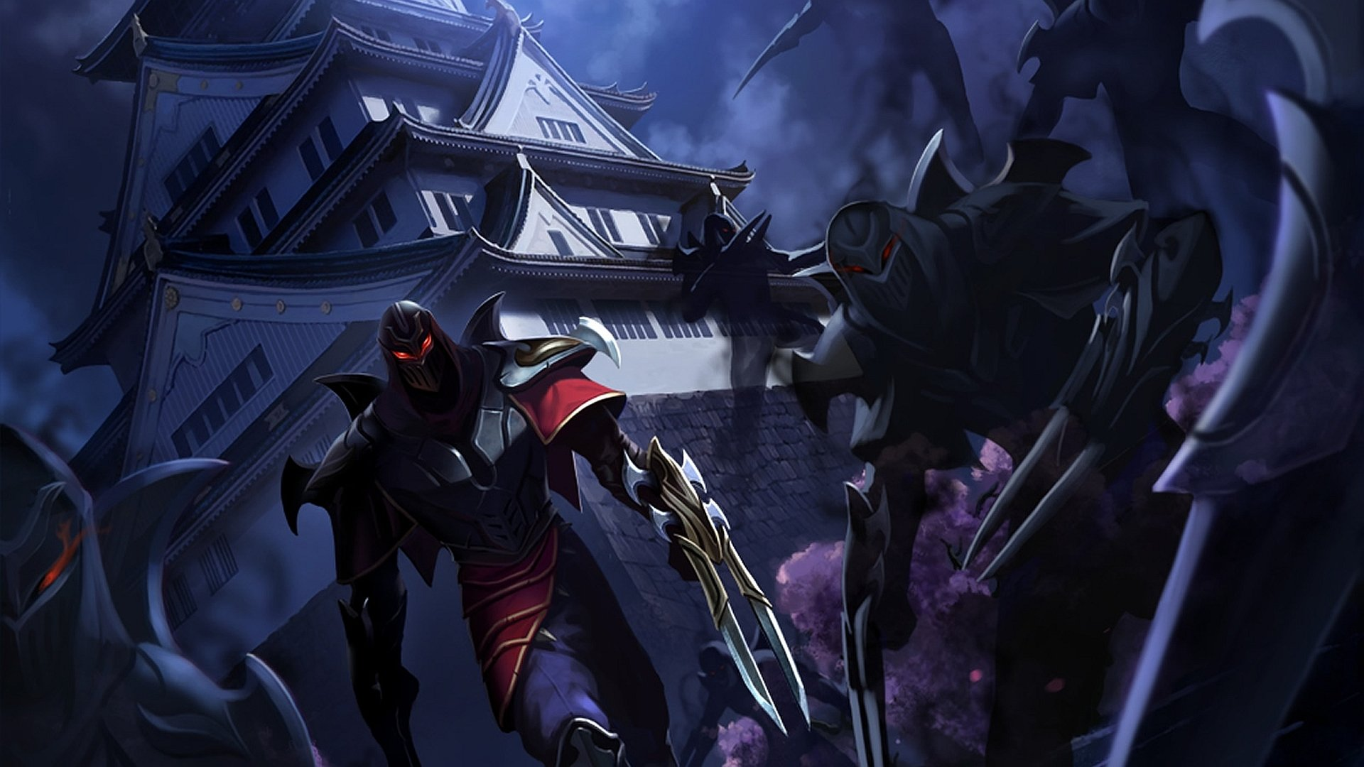 Video Game - League Of Legends  Zed (League Of Legends) Wallpaper