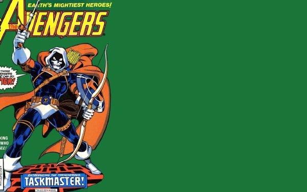 Comics Avengers The Avengers Taskmaster HD Wallpaper | Background Image