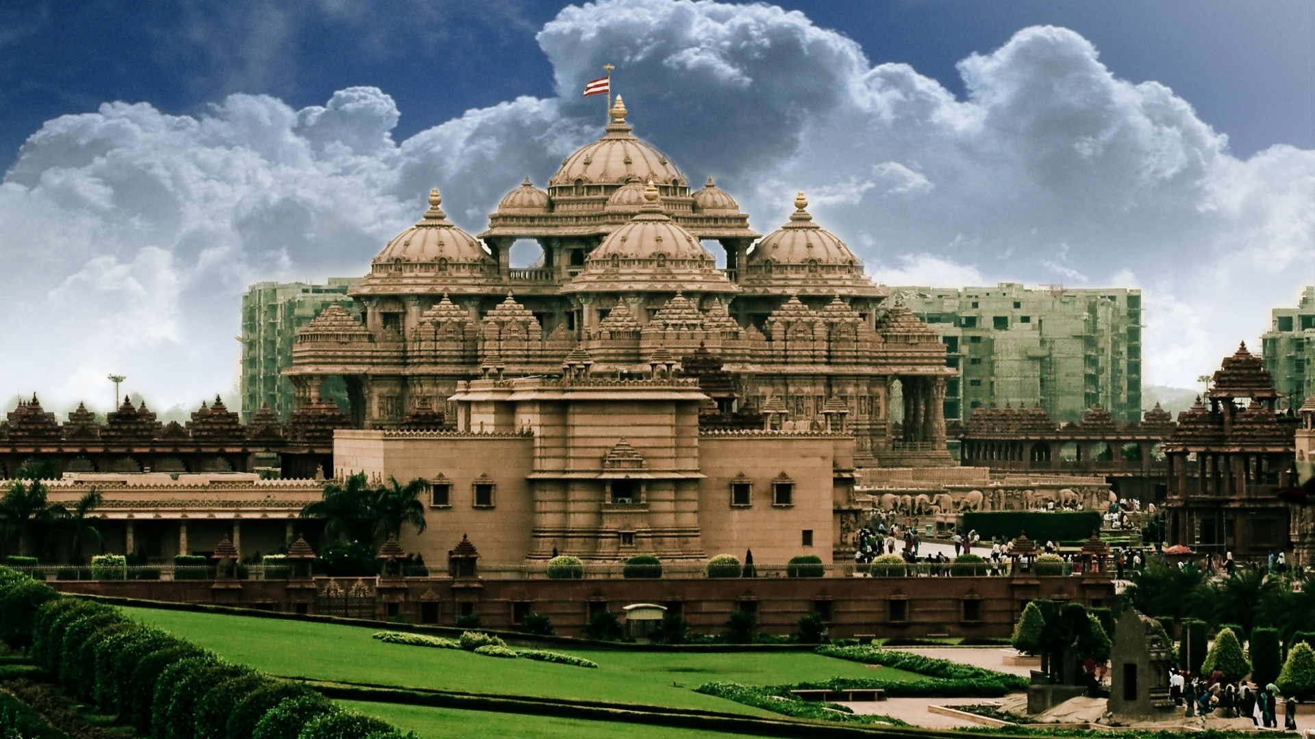 Akshardham temple full hd wallpaper and background image 1920x1080 religious akshardham wallpaper altavistaventures Gallery