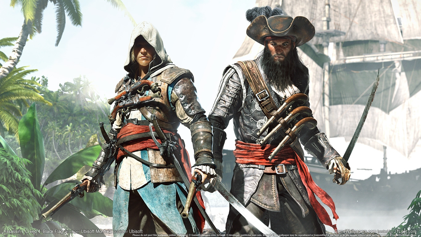 Assassins Creed 4 Black Flag Wallpaper And Background