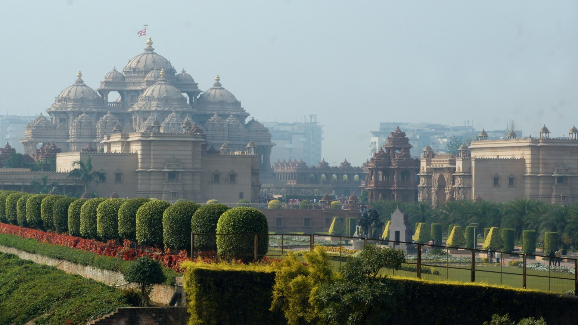 Akshardham temple full hd wallpaper and background image 1920x1080 religious akshardham wallpaper thecheapjerseys Choice Image