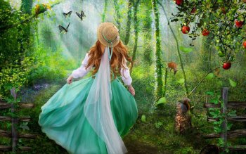 Fantasy - Women Wallpapers and Backgrounds ID : 481165