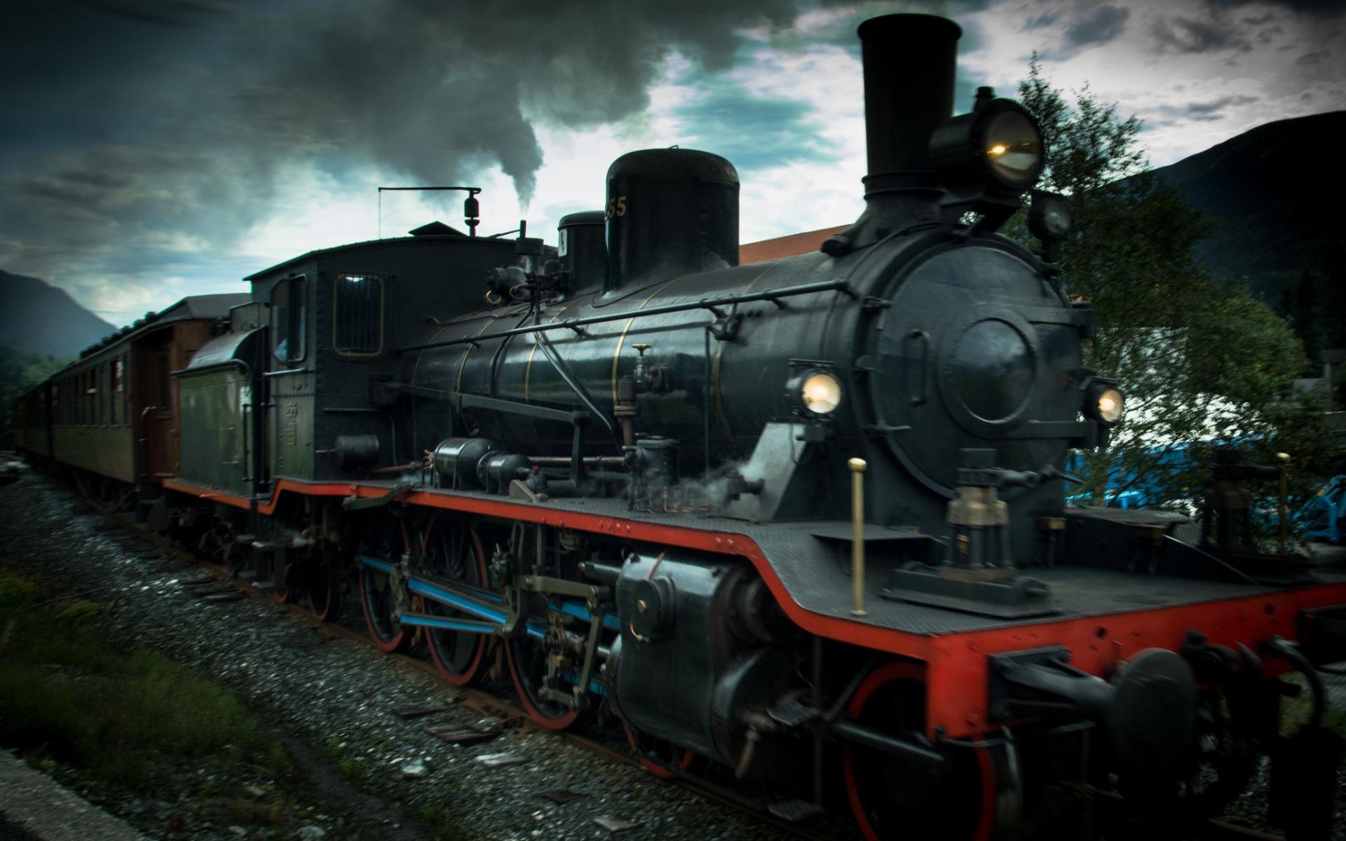 1920x1200 trains steam - photo #21