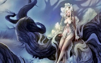 Fantasy - Frauen Wallpapers and Backgrounds ID : 482308