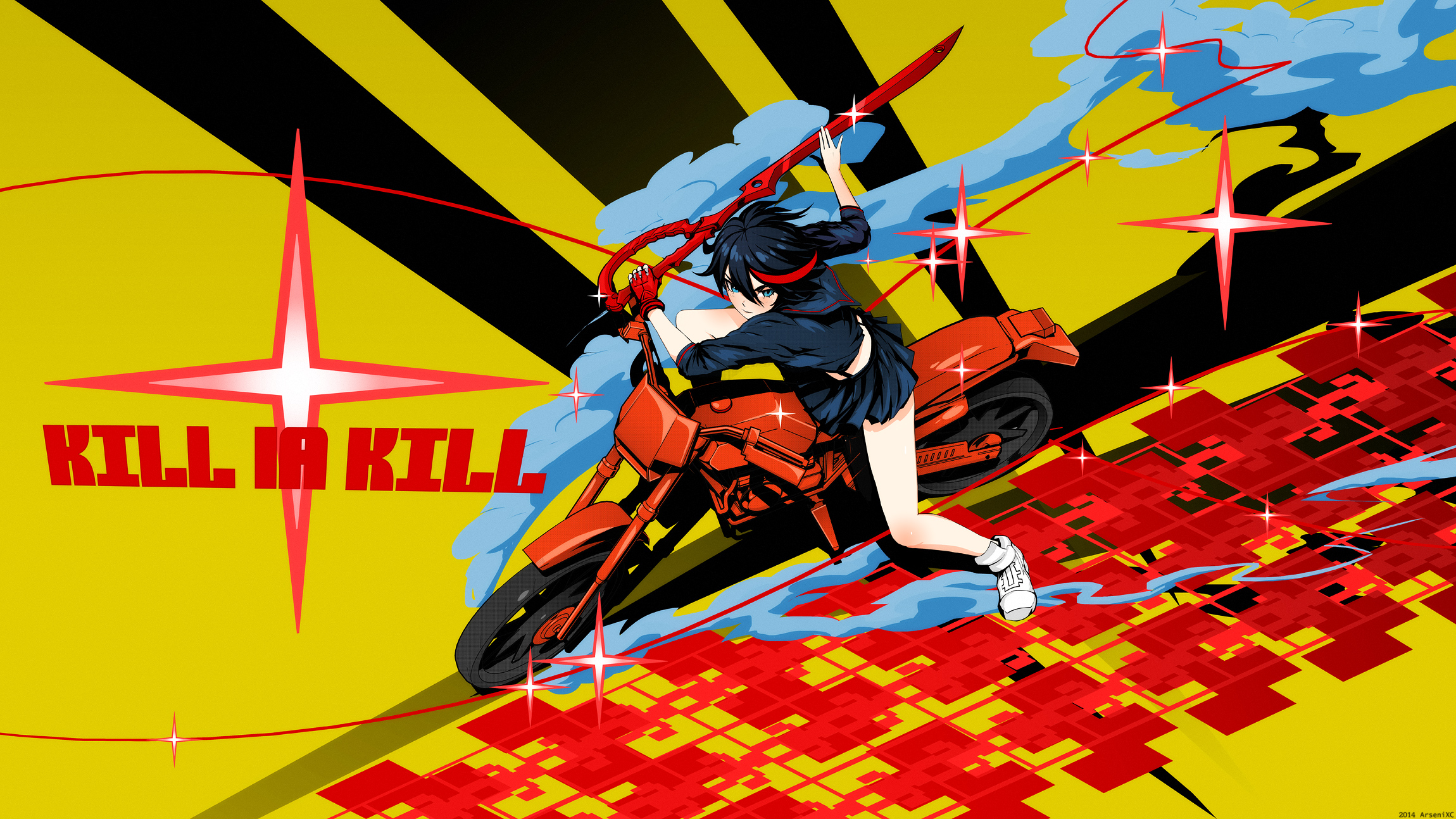 Kill La Kill HD Wallpaper | Background Image | 2300x1294 ...