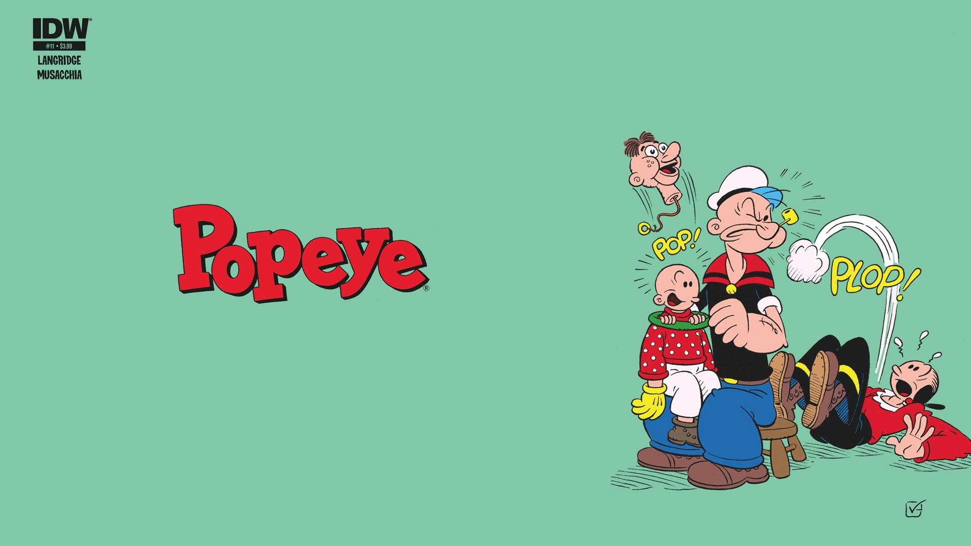 Popeye HD Wallpaper   Background Image   1920x1080   ID ...