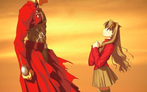 Anime Fate/stay Night Fate Series Rin Tohsaka Archer HD Wallpaper | Background Image
