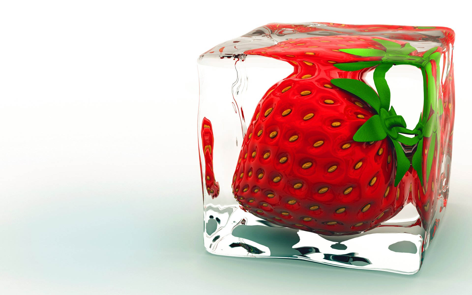 Food - Strawberry  Fruit Nature Wallpaper